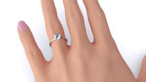 diamond company classic round solitaire