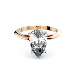 Adelaide diamonds pear gold engagement ring